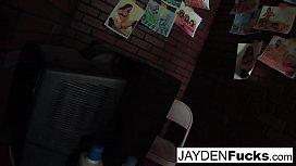 Jayden Jaymes Plays With Her Big Boobs
