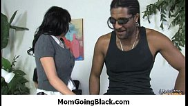 Milf fucked hard by black monster dick 2