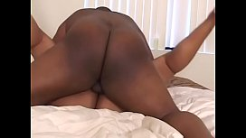 Gorgeous heavy-assed black lady Cheyanne Foxxx was not satisfied riding one cock so another stud should help her to solve that problem
