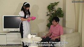 Masochist Slave Punished by Maid