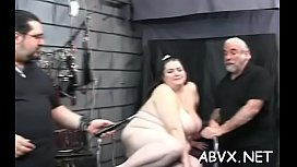 Amazing floosy is masturbating next to her fireplace