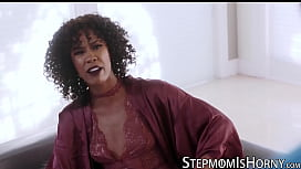 Ebony Misty Stone disciplines stepson with banging