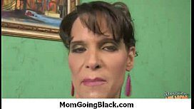 Horny mom go totally out of control sucking and fucking a black cock 27