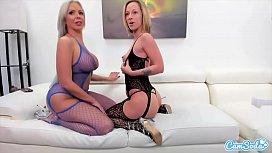 CamSoda - Jada Stevens and Nina Elle Pussy Licking and Dildo Fucking