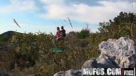 Mofos - Pervs On Patrol - (Bea Steel) - Voyeur Films a Couple Fucking Outdoors