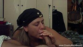 Perfect Boobs Italian Housewife BJ