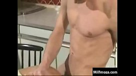 Classic mom and son morning fuck