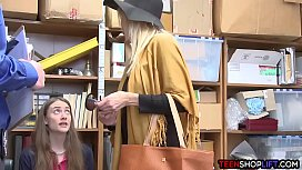 Teen and her grandma both get busted for shoplifting