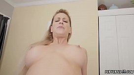 Hairy milf with stockings fucking and pony Cherie Deville in