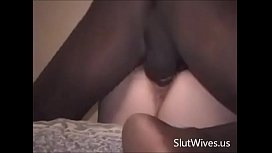 Mature Slutwife Interracial Fuck and Facial
