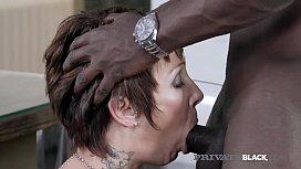 PrivateBlack - Inked Milf Catalya Mya Pounded By A BBC!