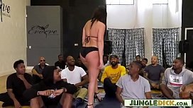 Sex Therapist Fucks 18 Black Guys During The Session - India Summer