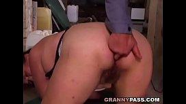 Underground Granny Anal