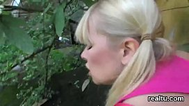 Stellar czech cutie is seduced in the supermarket and drilled in pov