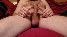 Masturbating and teasing cock till I squrit a warm sticky load of cum