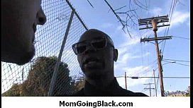 Mommy getting fucked hard by monster black 4