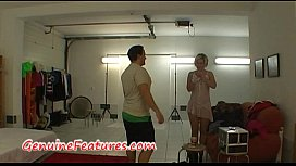 Sexy dance and BJ by real czech newbie