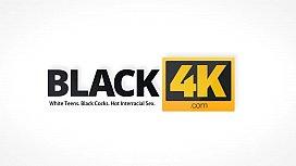 BLACK4K. Card tricks and wonderful sex in interracial love scene