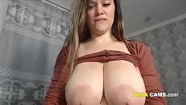Huge Tits Mature Milking Her Boobs In Glass And Drinking