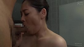 Busty Japanese milf is cheating with the old man
