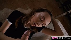 TEENFIDELITY Redhead Teen Avery Stone Gets Right to Fucking
