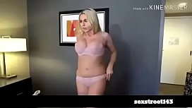 MomsTeachSex - Jerking off to my Step Mom and she Wakes for Dick