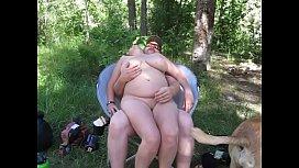 Having fun with my wife Debbi