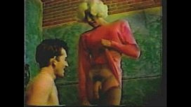Vintage huge cock hermaphrodite masturbating