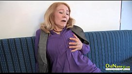 OldNannY Mature Tits Licking and Hardcore Fuck