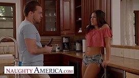 Naughty America - Kendra Spade flirts and fucks her neighbor
