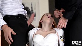 Stewardess Linda Sweet Screams During Hardcore Fuck At Bachelor Party xvideos preview