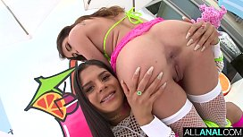 ALL ANAL Naughty anal fun with Adria Rae and Katya Rodriguez
