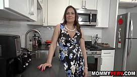 Hot aunt blows and fucks my cock