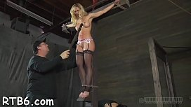 Rod punishment for beauty'_s cunt