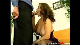 Older guy fucks sexy MILF