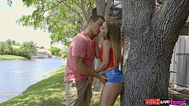 Mom joins teen stepdaughter and her boyfriend - Moms Bang Teens RK