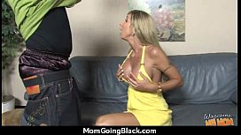 Monster black cock bangs my moms white pussy 23