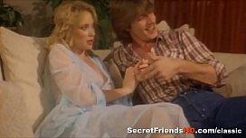 Blonde Bitch Fucked in Mmf Threesome Porn