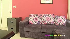 Casting couch interview with Asian chick