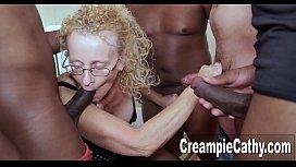 Creampie Gangbang For Mature MILF