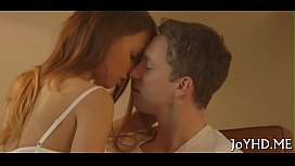 Legal age teenager chick in a porn action