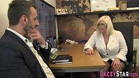 Doctor british grandmother sucks cock