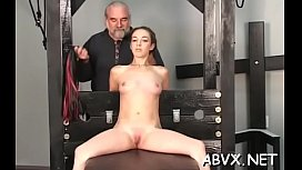 Young amateur chicks amazing bondage scenes on webcam