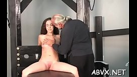 Young amateur chicks amazing bondage scenes on webcam