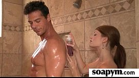 Soapy Massage and Shower Blowjob 20