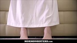 Mormon Teen Sister Casey Calvert Fucked To Orgasm By Church President