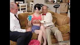 Hot Teen Alex Harper Gets Groped By Old Men