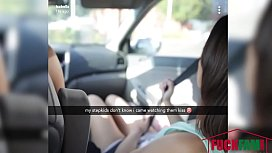 Aria Lee , Isabelle Deltore In Cross Cuntry Family Trip
