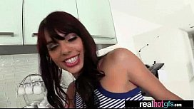 (gina valentina) Horny Girlfriend Perform Sex In Front Of Camera vid-15