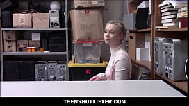 Petite Blonde Teen Athena Rayne Fucked To Orgasm By Security Officer After Stealing His Wallet